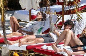 James Franco : En vacances au soleil avec sa chérie, la jeune Isabel Pakzad