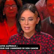 """Cancer d'Agathe Auproux – sa maladie révélée : """"Je me sens mieux..."""""""