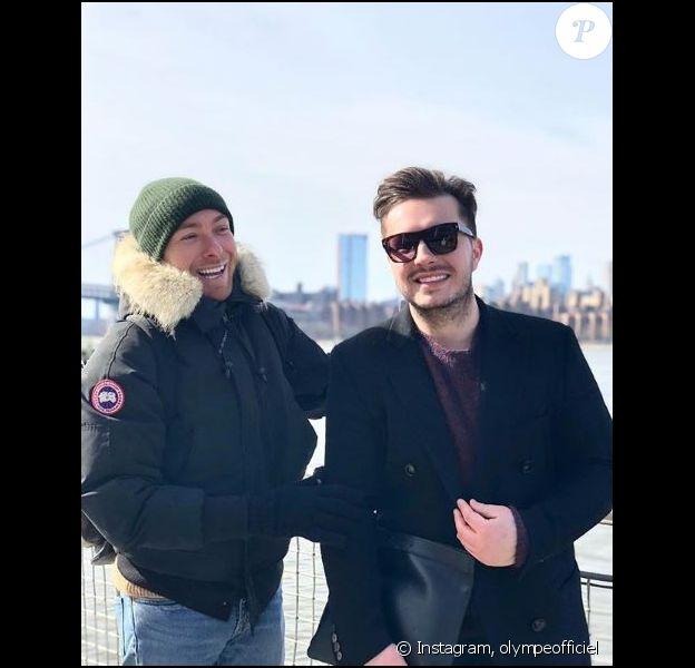 Olympe et son mari à New York, le 11 février 2019.