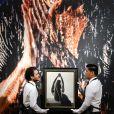 Vente aux enchères de la collection d'art de George Michael, par Christie's, à Londres, le 8 mars 2019