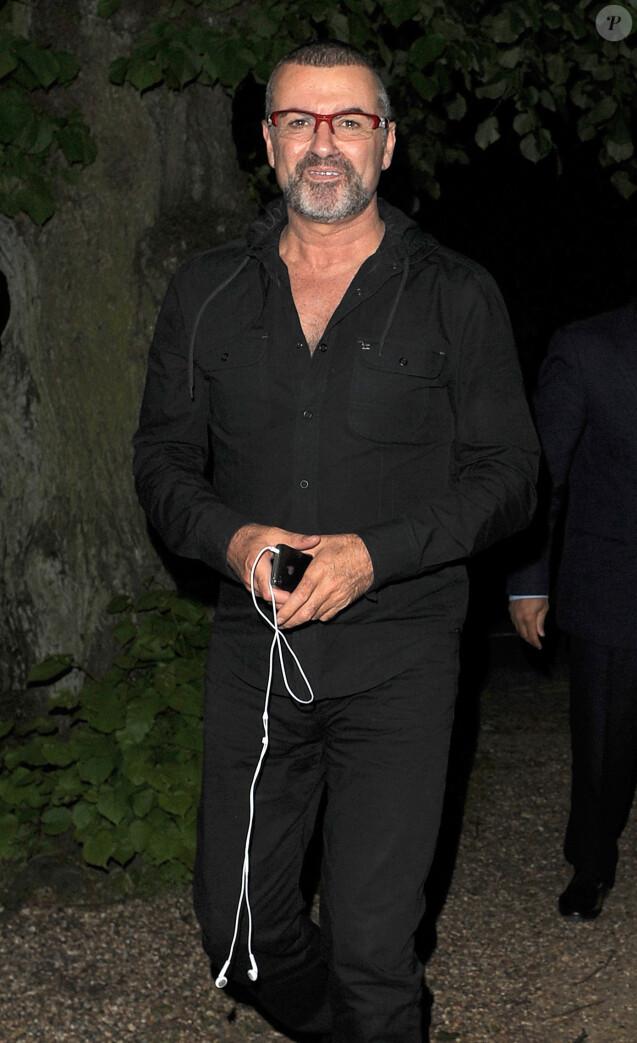 George Michael à Londres en juin 2012.