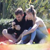 Justin et Hailey Bieber : Moment complice pour les jeunes époux