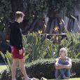 Justin Bieber et sa femme Hailey Bieber (née Baldwin) profitent du soleil à Laguna Beach. Los Angeles, le 16 mars 2019.
