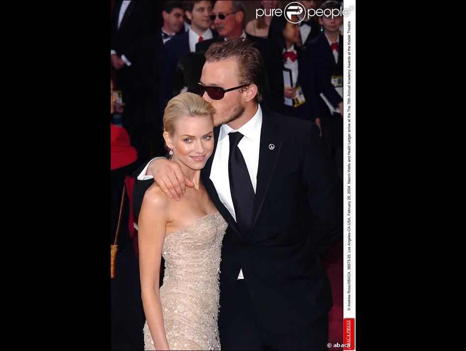 Heath Ledger et Naomi Watts...