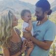 Brandon Jenner, Leah Felder et leur fille Eva en 2016.