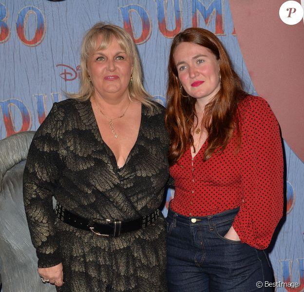 """Valérie Damidot et et sa fille Roxane - Première du film """"Dumbo"""" au Grand Rex à Paris le 18 mars 2019. © CVS/Bestimage"""