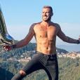 Julien Bert torse nu sur Instagram - 9 octobre 2018