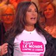 """Nathalie Marquay dans """"C'est que de la télé"""", jeudi 21 mars 2019, sur C8"""
