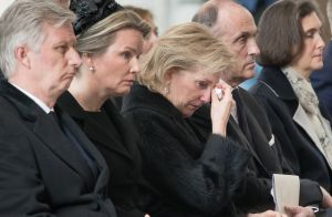 Princesse Astrid de Belgique : En larmes aux obsèques du cardinal Danneels...