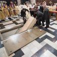 Obsèques du cardinal Godfried Danneels, décédé le 14 mars à l'âge de 85 ans, célébrées à la cathédrale Saint-Rombaut de Malines le 22 mars 2019.