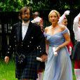 J.k Rowling et son mari Neil Michael Murray lors du gala annuel organisé par Mikhaïl Gorbatchev, le 6 juin à Londres