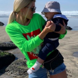 Mélanie Da Cruz et son fils Swan au Portugal - Instagram, 25 février 2019