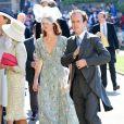 Tom Inskip à la chapelle St. George pour le mariage du prince Harry et de Meghan Markle au château de Windsor, Royaume Uni, le 19 mai 2018.
