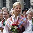 La princesse Madeleine de Suède lors des célébrations de la Fête Nationale suédoise, le 6 juin 2009