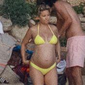 Kate Hudson : Enceinte à la plage sur sa nouvelle campagne de mode