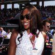 Naomi Campbell lors du Grand Prix de Formule 1 de Turquie le 7 juin 2009