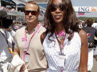 Naomi Campbell parcourt l'Europe avec son amoureux russe pour la gloire de l'art... et de la Formule 1 !