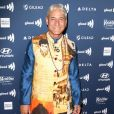 """Greg Louganis au photocall de la soirée des 30ème """"GLAAD Media Awards"""" au Beverly Hilton Hotel à Beverly Hills, Los Angeles, le 28 mars 2019."""