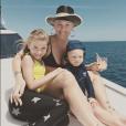 Pink et ses enfants, Jameson et Willow, sur Instagram en mars 2019.