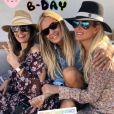 Laeticia Hallyday souhaite un joyeux anniversaire à son amie Christina sur Instagram le 1er avril 2019.