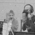 """Maëlle (The Voice 7) dévoile son single """"Toutes les machines ont un coeur"""" sur Instagram, le 2 avril 2019. Ici avec Calogero."""