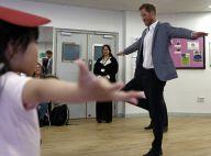 Le prince Harry s'essaie au ballet : Tendre moment avec des enfants