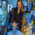 """Estelle Lefébure à la première du nouveau spectacle du Cirque du Soleil """"Toruk"""", inspiré du film Avatar de J. Cameron à l'AccorHotels Arena de Bercy à Paris le 4 avril 2019. © Coadic Guirec/Bestimage"""