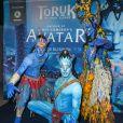 """Première du nouveau spectacle du Cirque du Soleil """"Toruk"""", inspiré du film Avatar de J. Cameron à l'AccorHotels Arena de Bercy à Paris le 4 avril 2019. © Coadic Guirec/Bestimage"""