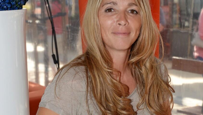 Hélène Rollès au 16e Festival de la fiction TV, à La Rochelle, le vendredi 12 septembre 2014.