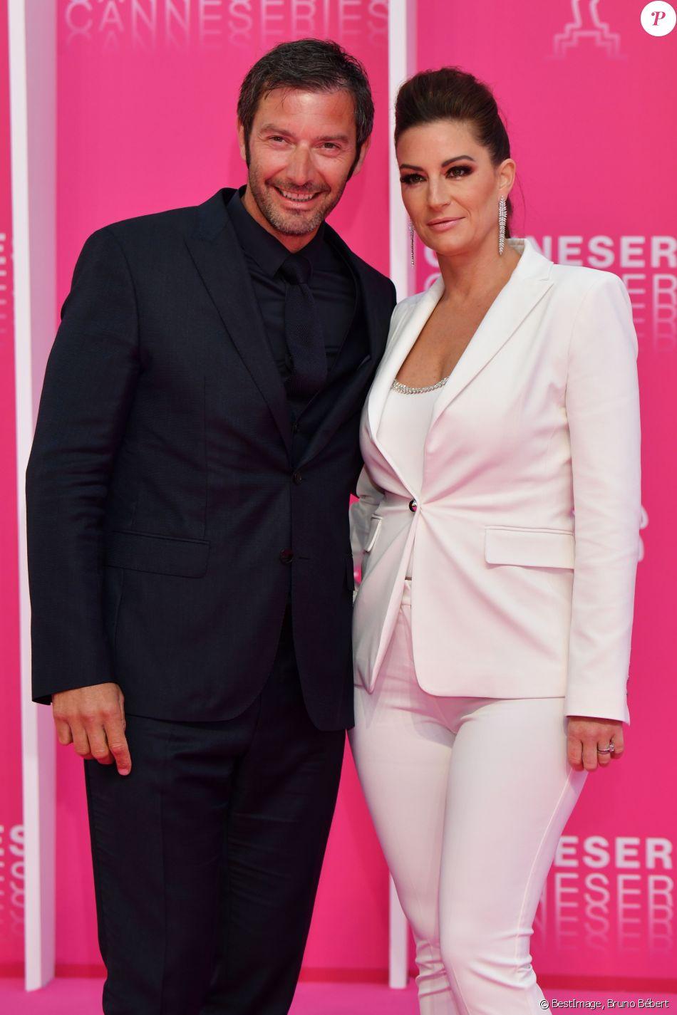 e89249067af067 Franck Semonin et sa femme Hélène au photocall de la soirée d'ouverture