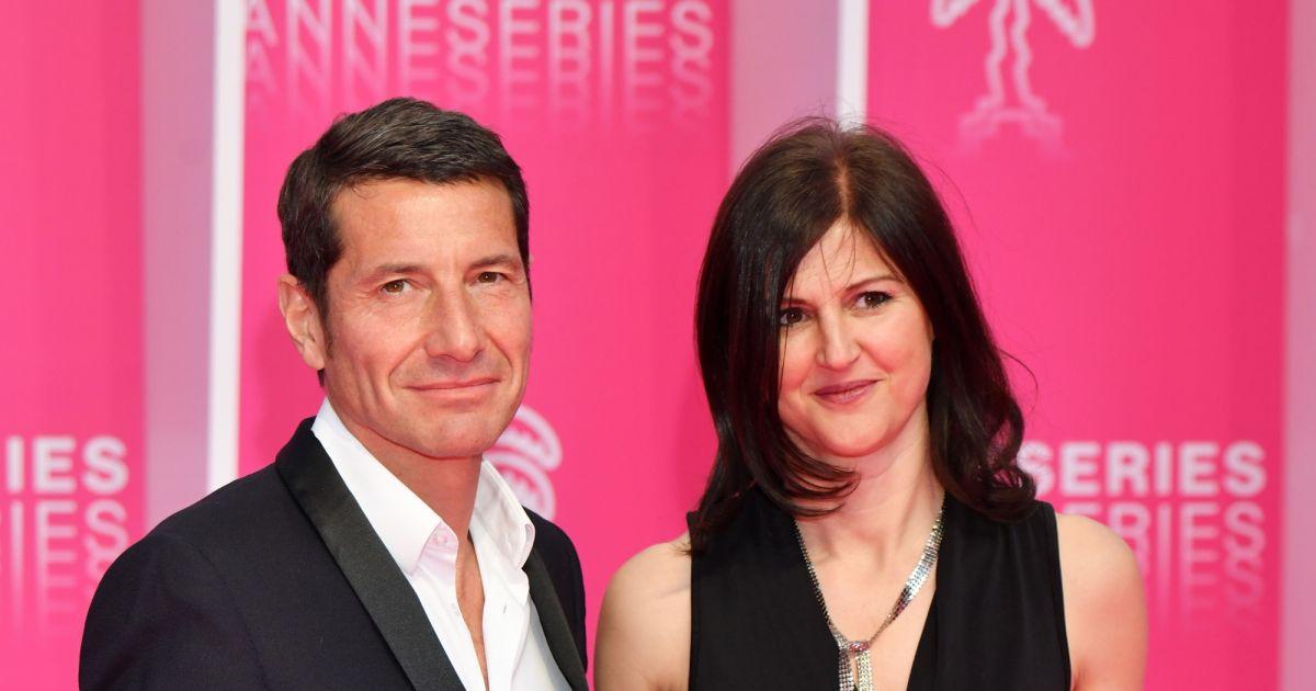 06b01f3f01bccf David Lisnard, le maire de Cannes et sa femme Jacqueline Pozzi, journaliste  à France 3 Côte d'Azur au photocall de la soirée d'ouverture de la 2e  édition du ...
