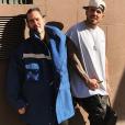 Marc Jacobs et Charly Defrancesco. Février 2018.