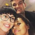 """Pierre et Frédérique de """"L'amour est dans le pré"""" saison 7 avec Karine Le Marchand - Instagram, 26 février 2019"""