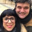 """Pierre et Frédérique, couple phare de """"L'amour est dans le pré"""" saison 7 - Instagram, 14 janvier 2019"""
