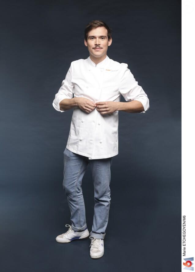 """Damien Laforce - Candidat de """"Top Chef 2019""""."""