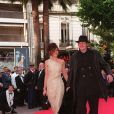 Guillaume Depardieu et Clotilde Courau au Festival de Cannes 1997