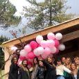 Ariane Brodier a partagé des photos de sa baby shower, au Mas de la Poste, dans le Sud de la France, le 11 avril 2019