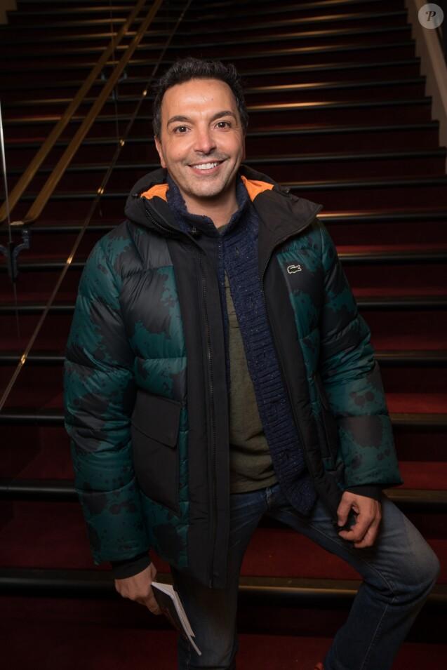 """Exclusif - Kamel Ouali - People au spectacle """"Peau d'âne"""" lors de la réouverture du théâtre Marigny à Paris le 22 novembre 2018. © Olivier Borde - Cyril Moreau / Bestimage"""