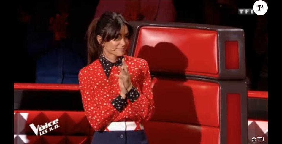 """Jenifer dans """"The Voice 8"""" sur TF1, le 13 avril 2019."""