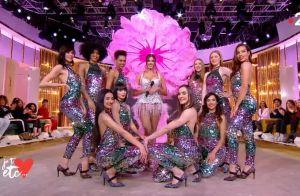 Iris Mittenaere meneuse de revue sensuelle : son show sexy en costume
