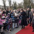 La princesse Mary de Danemark a ouvert officiellement le zoo de Copenhague avec ses enfants la princesse Josephine et le prince Vincent le 11 avril 2019 à l'occasion de la présentation des pandas Mao Sun et Xing Er, arrivés de Chine quelques jours plus tôt et installés dans un enclos spécialement conçu.