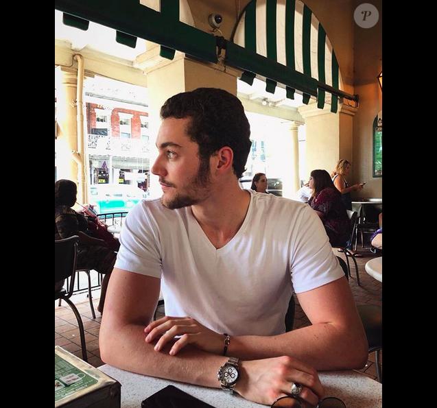Louis Sarkozy sur Instagram, en juin 2018.