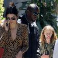 Exclusif - Kendall Jenner est allée prendre un café avec Fai Khadra et des amis dans le quartier de Beverly Hills. Le 17 avril 2019.