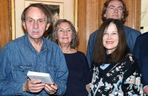 Michel Houellebecq : Accompagné de sa femme, il a reçu la Légion d'honneur