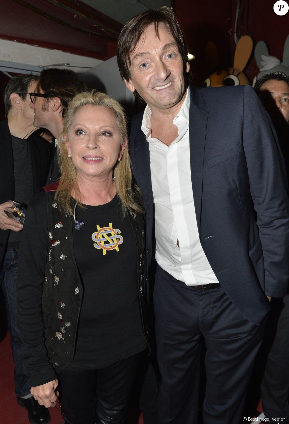 Véronique Sanson et Pierre Palmade - Cérémonie de remise des Grands Prix Sacem 2015 aux Folies Bergères à Paris le 30 novembre 2015. © Veeren / Bestimage