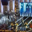 """Exclusif - Vincent Niclo - Soirée spéciale """" Notre Dame de Paris, Le Grand Concert """" qui s'est déroulée dans la Cour des Invalides à Paris 7eme et diffusée sur France 2 samedi 20 Avril 2019. Au programme de ce concert de solidarité, animé par S. Bern et M.S. Lacarrau : une pléiade d'artistes qui interpréteront des chansons inspirées de la Ville Lumière et de la comédie musicale """" Notre-Dame de Paris """".De grands noms de la chanson se mélangeront à des figures du classique.Des reportages consacrés à l'histoire de la cathédrale ponctueront leurs prestations, de même que les interventions des habitués de Notre-Dame. Les téléspectateurs qui le souhaitent pourront faire un don par Internet. © Pierre Perusseau / Bestimage"""