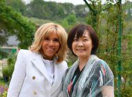 Brigitte Macron : Très élégante en blanc pour une visite bucolique avec Akie Abe