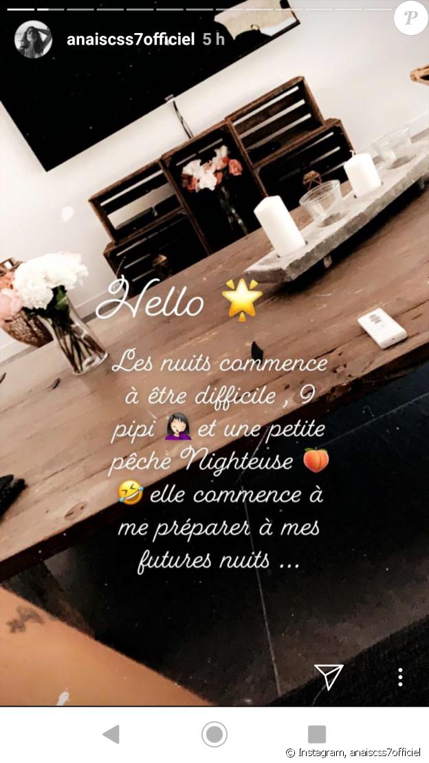 Anaïs Camizuli, story, 24 avril 2019