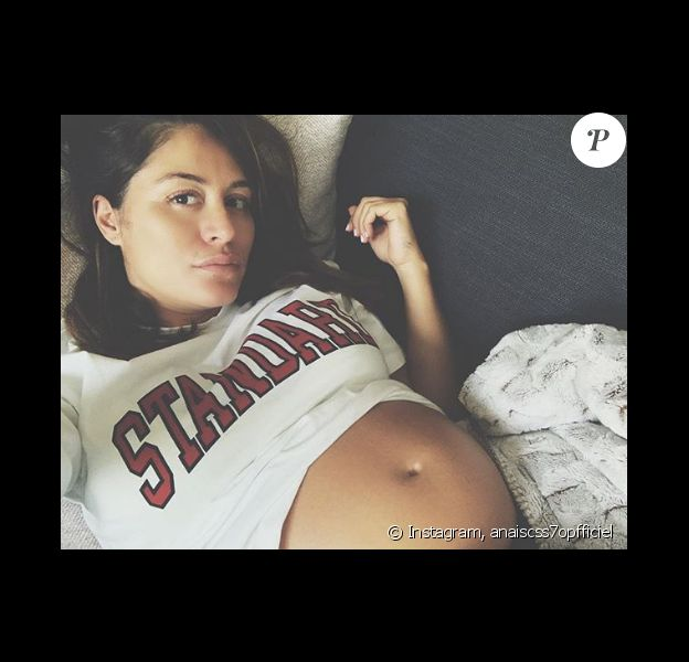 Anaïs Camizuli enceinte de 6 mois - Instagram, 15 avril 2019