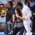 Les Black Eyed Peas en concert à New York au Rockefeller Plaza, le 12 juin 2009